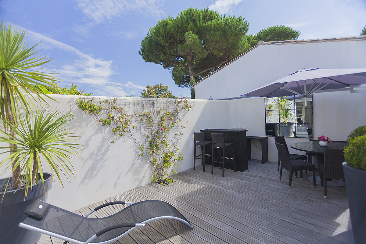 location de vacances sur l 39 ile de r maison de 70m2 pour. Black Bedroom Furniture Sets. Home Design Ideas